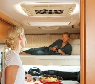 luftkonditionering i husvagn