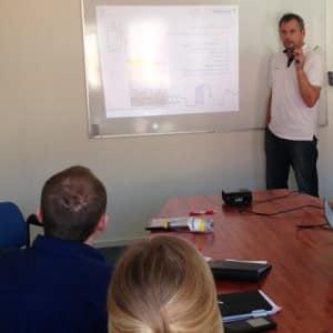Utbildning hos Polarpumpen, med Tomas Wiak