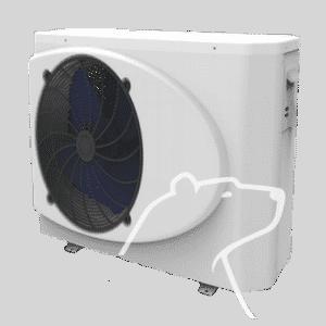 Aquaheat poolvärmepump