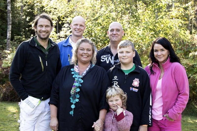 Familjen Sandberg i Motala, Foto:Marcus Samuelsson
