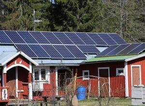 Optimerare används för att optimera solpanelernas elproduktion